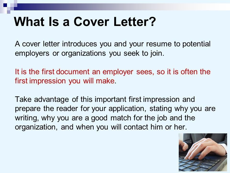 Cover letters and Resume - ppt video online download
