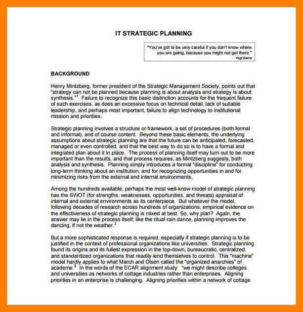 6+ strategic planning template free | packaging clerks