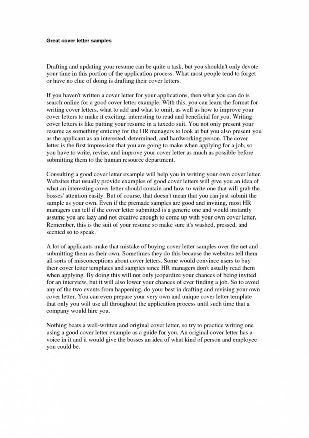 resume cover letter free cover letter example for sample cover ...