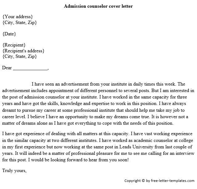 financial aid counselor cover letter twhois resume lovable ...
