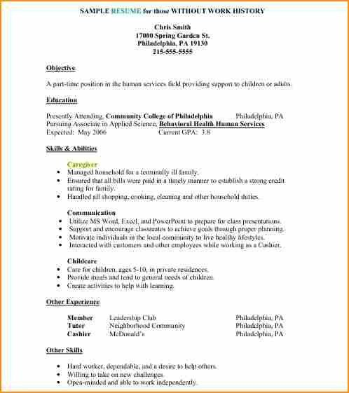 5 simple job resume examples - Basic Job Appication Letter