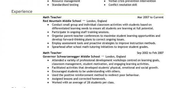 Substitute Teacher Job Description. Teaching Cover Letter Examples ...