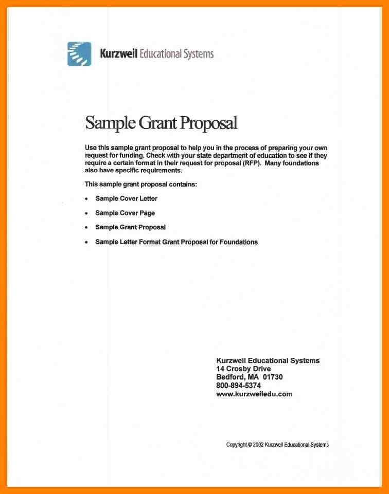 Grant Cover Letter. How To Write A Grant Proposal - Cover Letter ...
