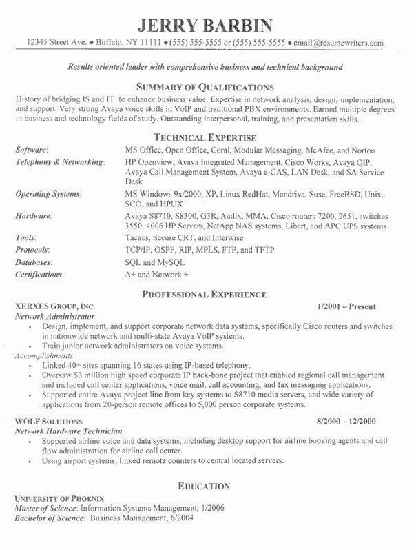 IT Director Resume Examples: Tech Industry Resume Samples