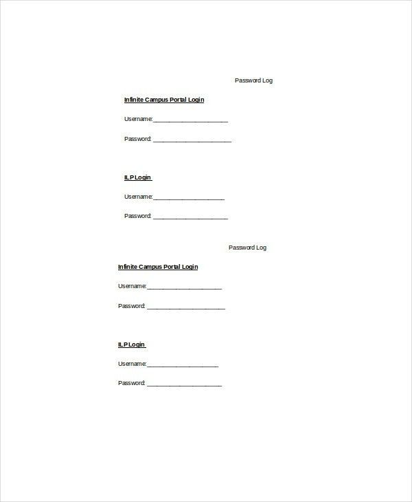 Log Template - 10+ Free Word, Excel, PDF Documents Download | Free ...