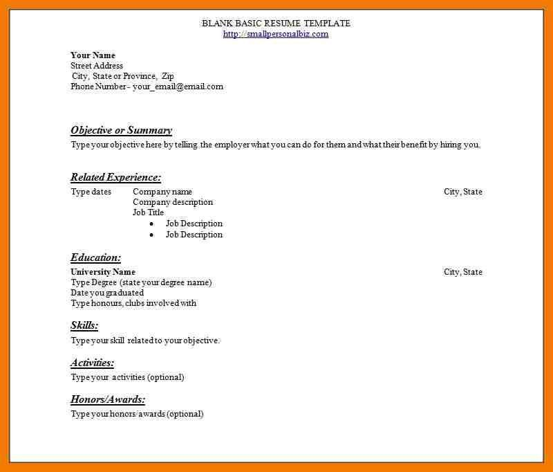 Beginning Resume Template. dance resume sample image projects ...