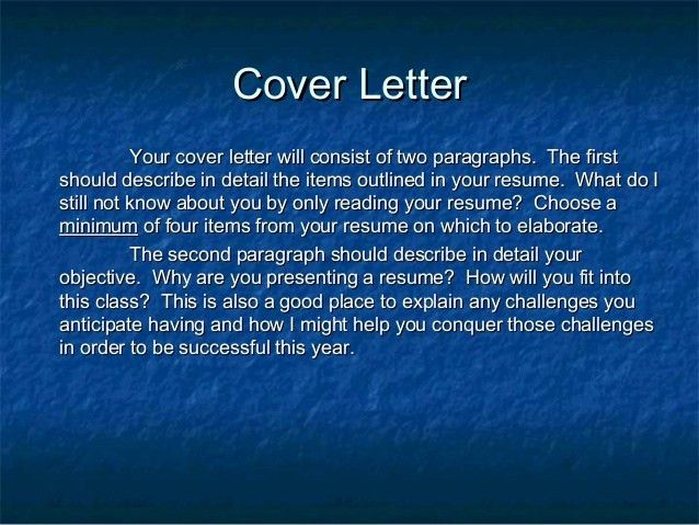 what does a resume cover letter look like pictures 2 what does a ...