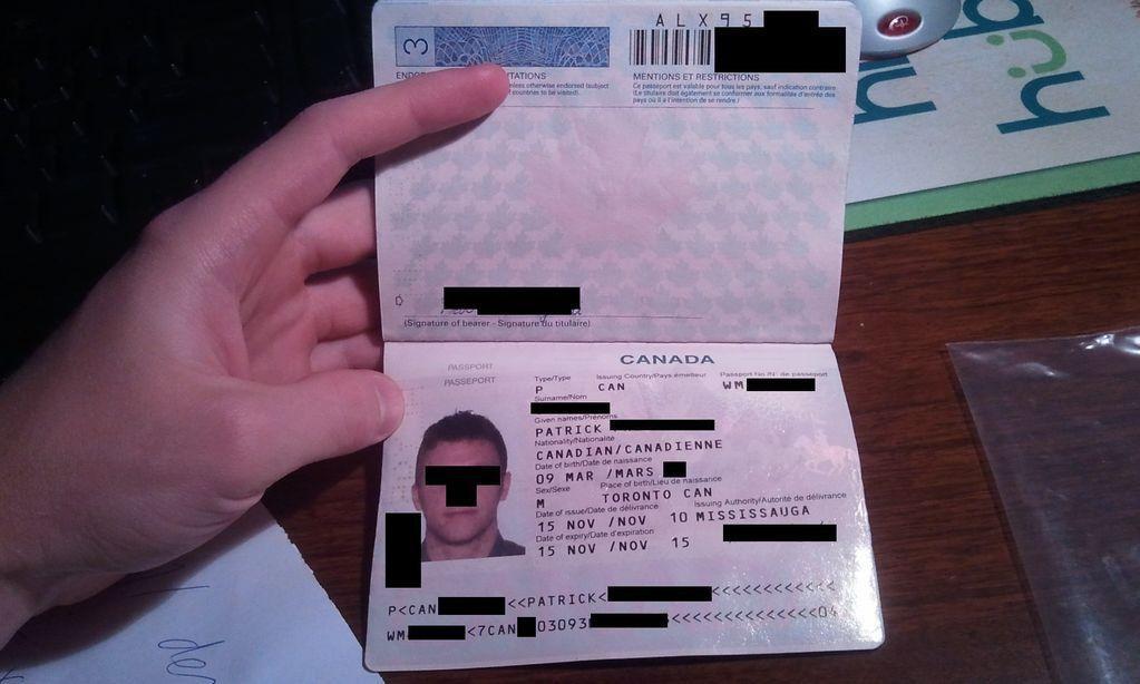water damaged passport - RedFlagDeals.com Forums