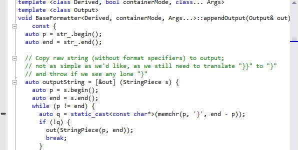 Learn from Folly source code the new C++11 features. | CoderGears Blog