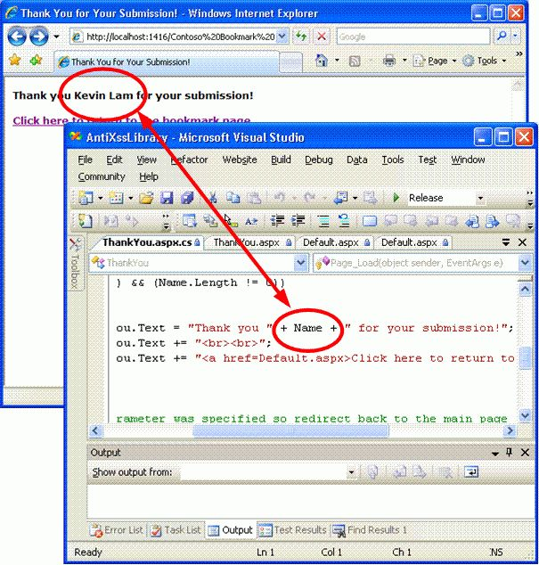 Microsoft Anti-Cross Site Scripting Library V1.5: Protecting the ...