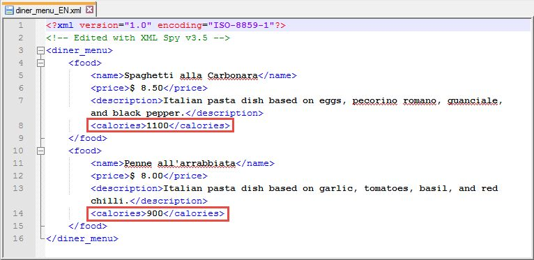 Application Example: XML Document