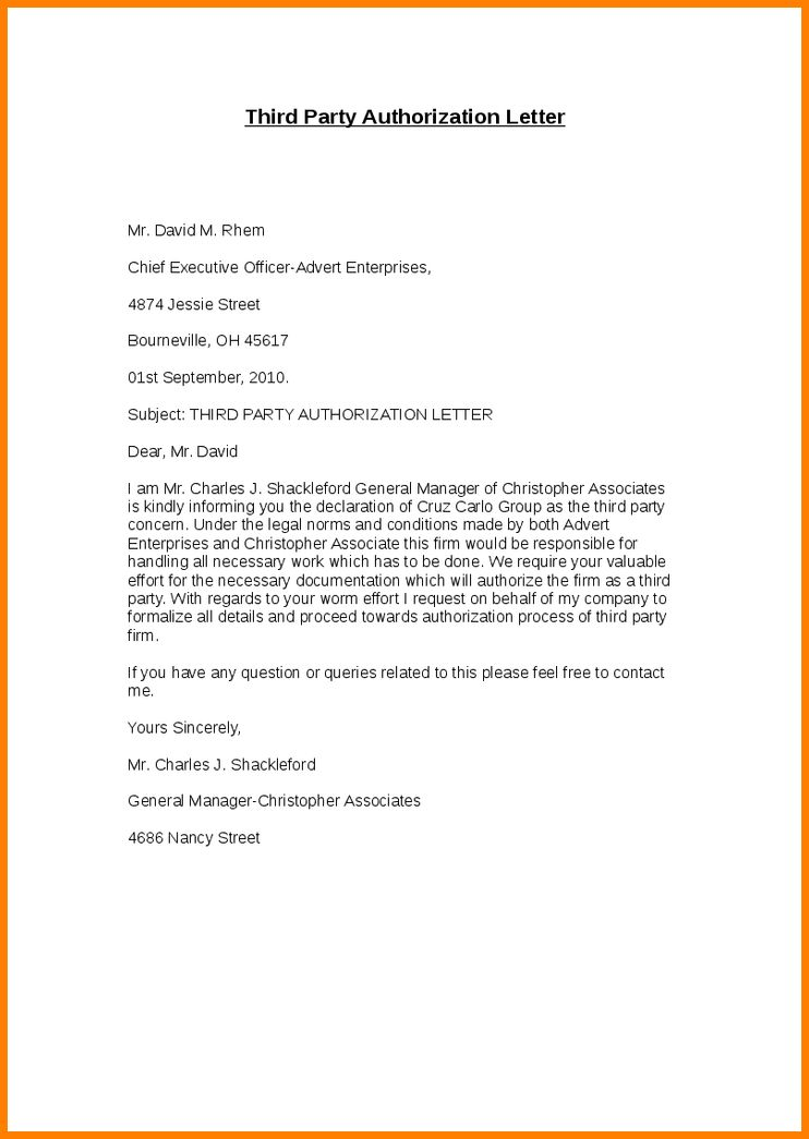 6+ authority letter sample for document collection | cashier resumes