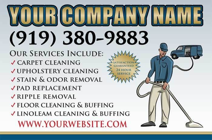 Carpet Cleaning Vehicle Magnets, Carpet Cleaner Marketing