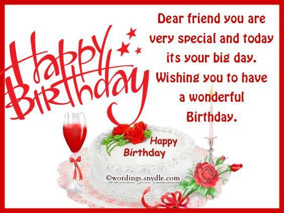 HAPPY BIRTHDAY WISHES FOR BEST FRIEND | New Hd Template İmages ...