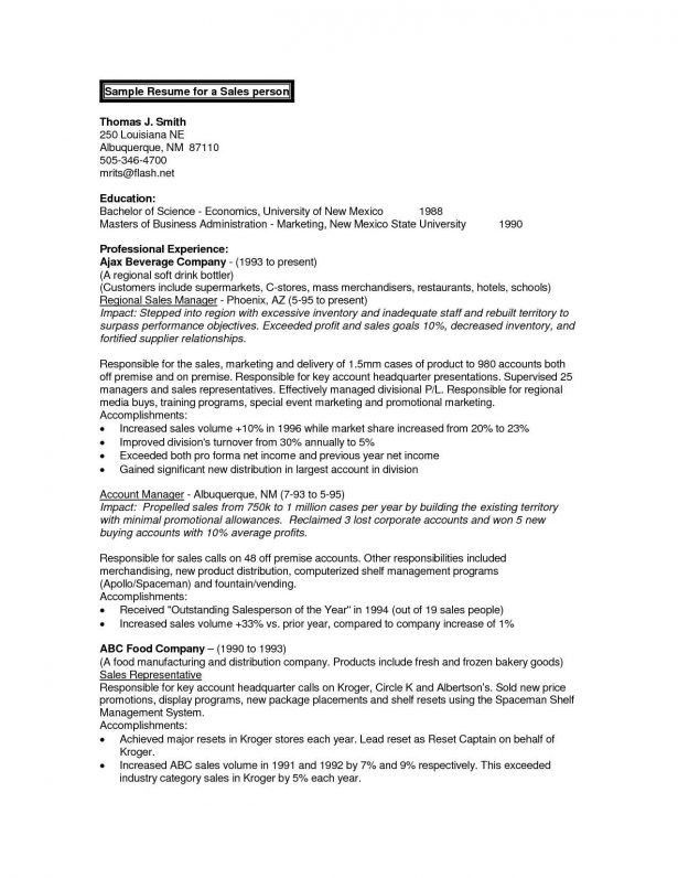 what does summary mean on a resumes