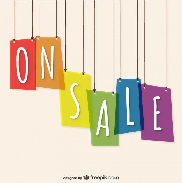 On Sale Template Free Vector | 123Freevectors