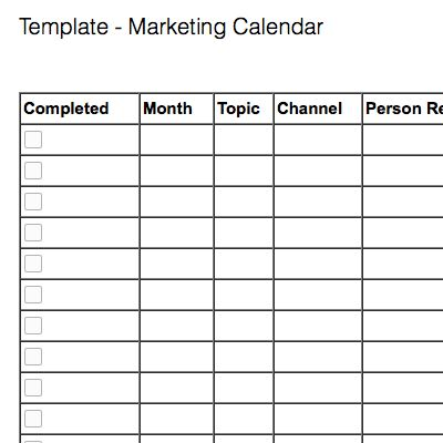 Note templates for marketing – Evernote Help & Learning