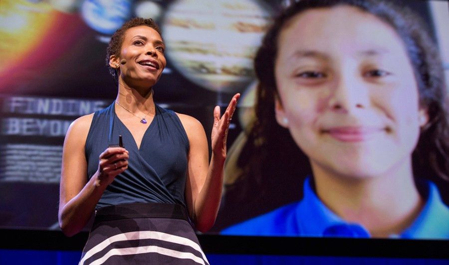 Astronomer, actor, role model: TED Fellow Aomawa Shields looks for ...