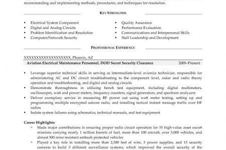 Military Resume Template. Click Here To Download This Senior ...
