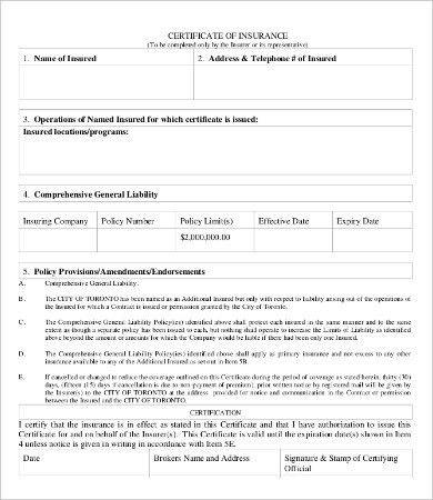 Blank Certificate - 9+ Free Word, PDF Documents Download | Free ...