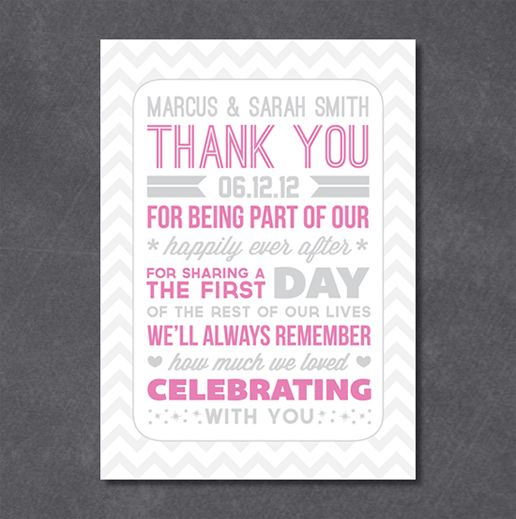 Giveaway} $25 gift certificate to Thank You Card Shop | The Pretty ...