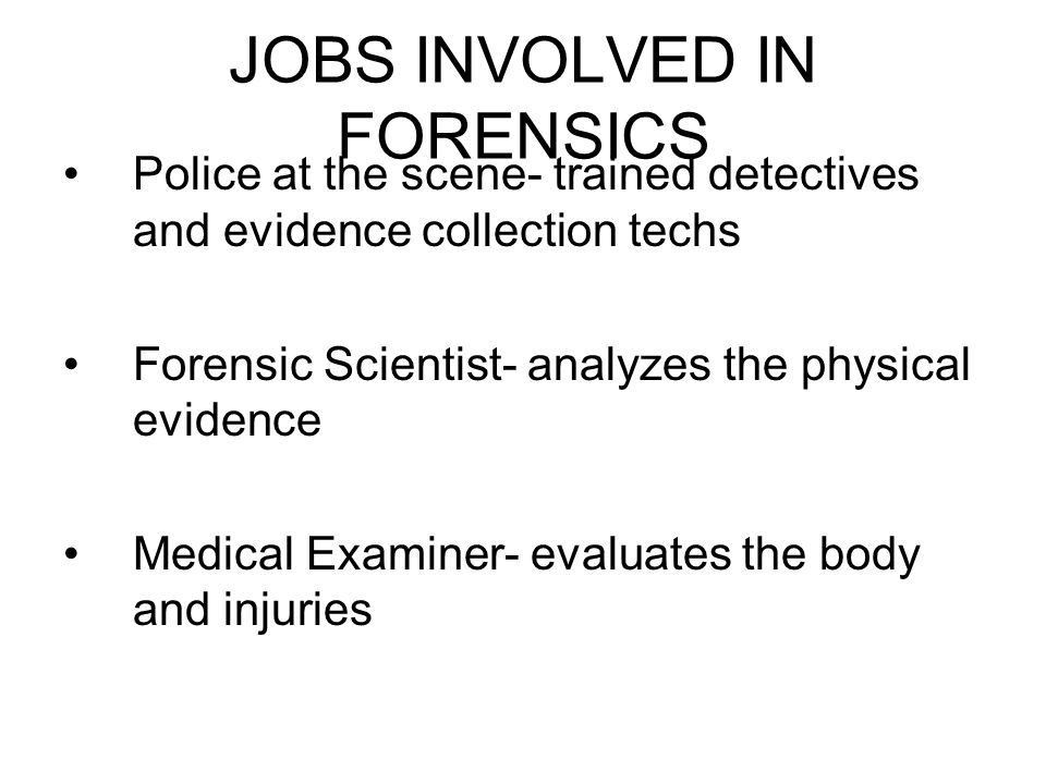 hot jobs medical billing field 4 jobs involved in forensics - Medical Collection Jobs