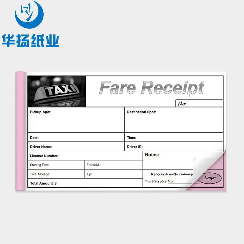 Taxi Receipt Book Bill Book Design Printing Invoice Book - Buy ...