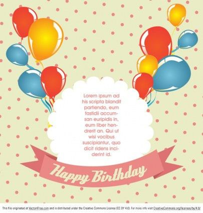 Birthday Card Template – gangcraft.net