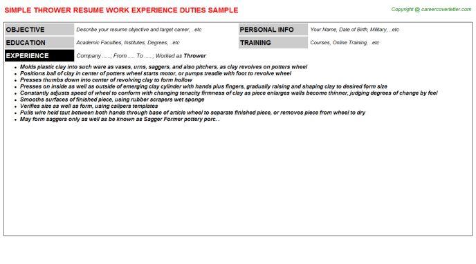 Typescript Resumes Samples