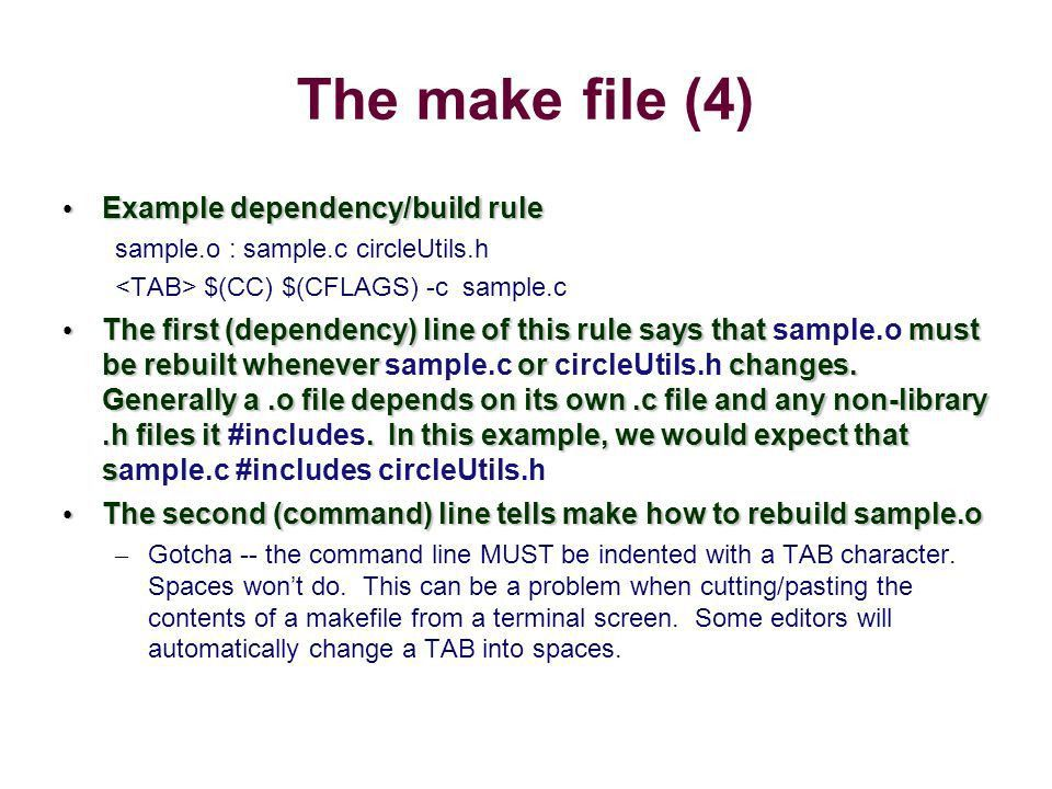 Separate Compilation make and makefiles - ppt download
