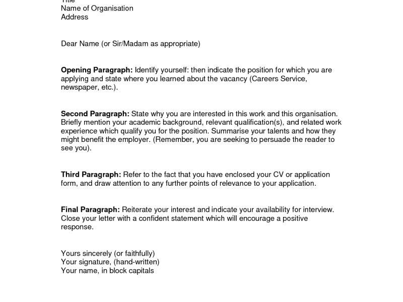 Fantastic Cover Letter Examples | haadyaooverbayresort.com