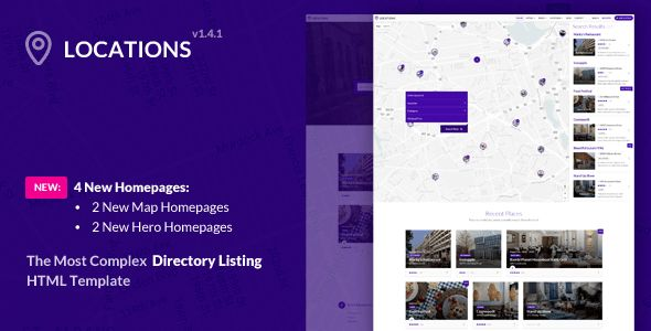 Locations - Multipurpose Directory Template by ThemeStarz ...