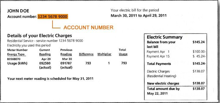 How To Read An Electric & Gas Bill - Make The Switch USA