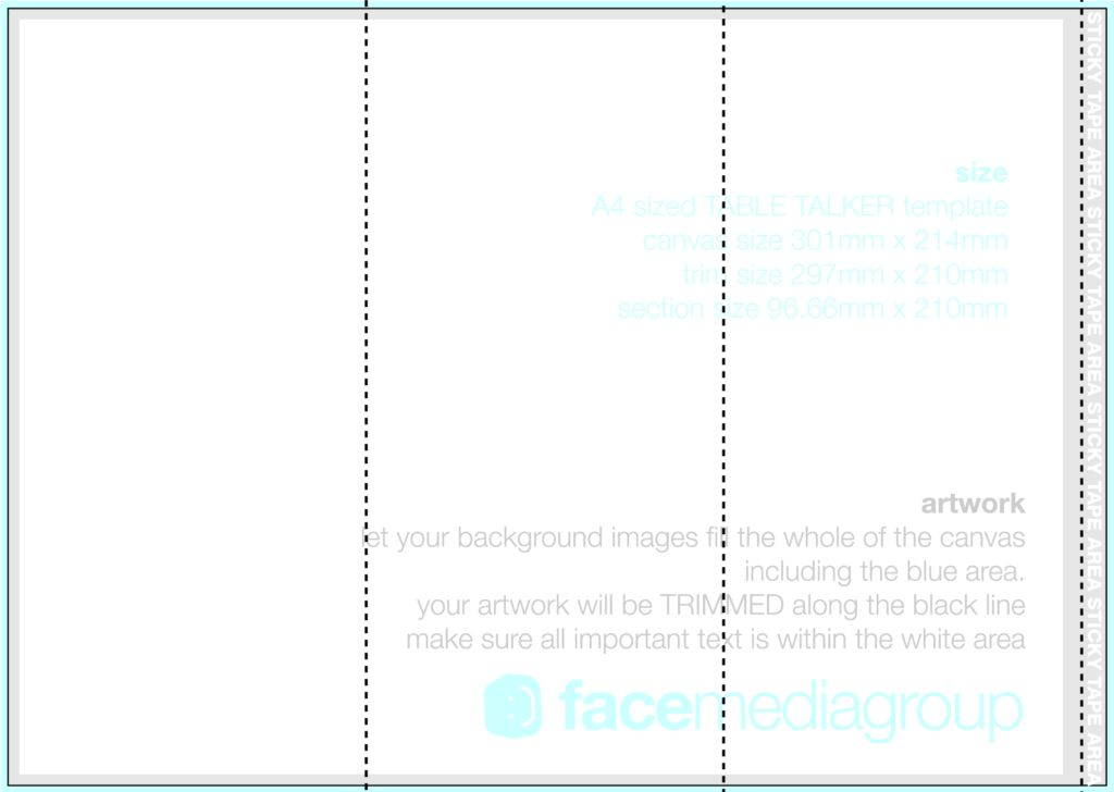 vector Blank Tri Fold Brochure Template Sample : Helloalive