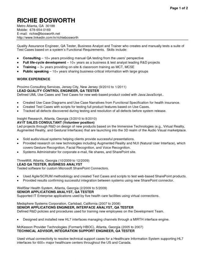 Etl Tester Resume Format. etl tester resume format corpedo com ...