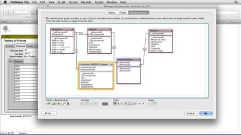 FileMaker Pro: Relational Database Design