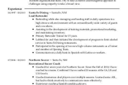 Project Officer Resume Samples VisualCV Resume Samples Database ...