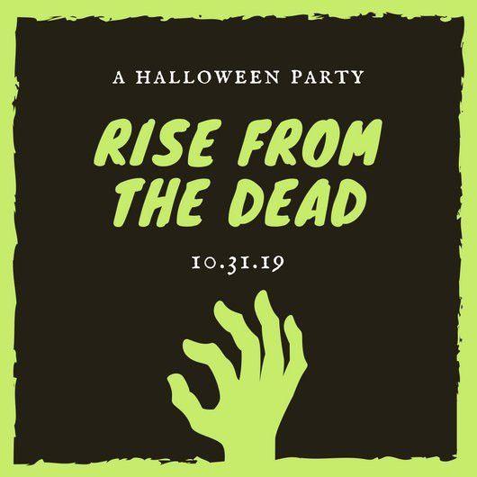 Halloween Party Invitation Templates - Canva