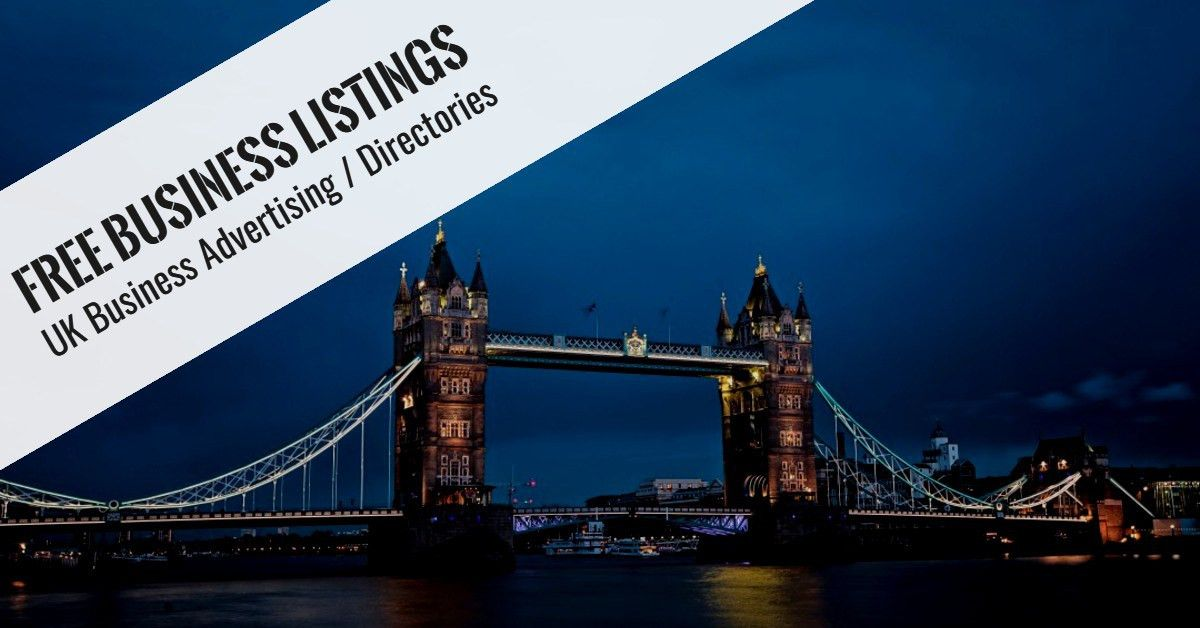 FREE Business Listings UK - FREE Business Advertising ...