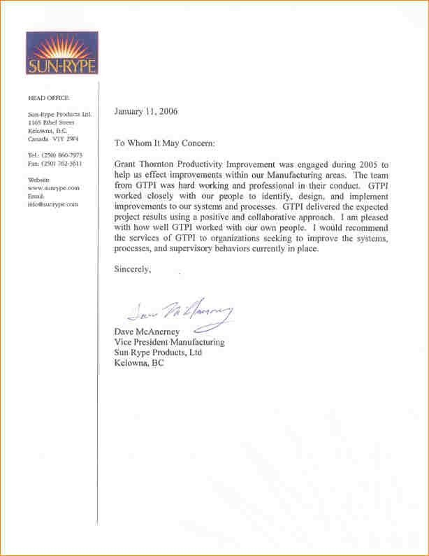 12+ personal recommendation letter sample | academic resume template