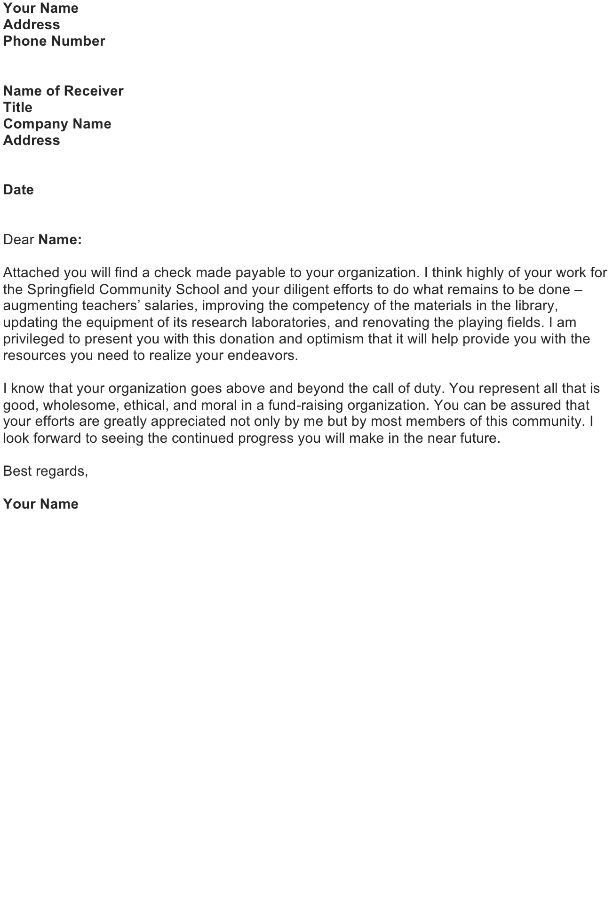 Good Faith Letter Sample - Download FREE Business Letter Templates ...
