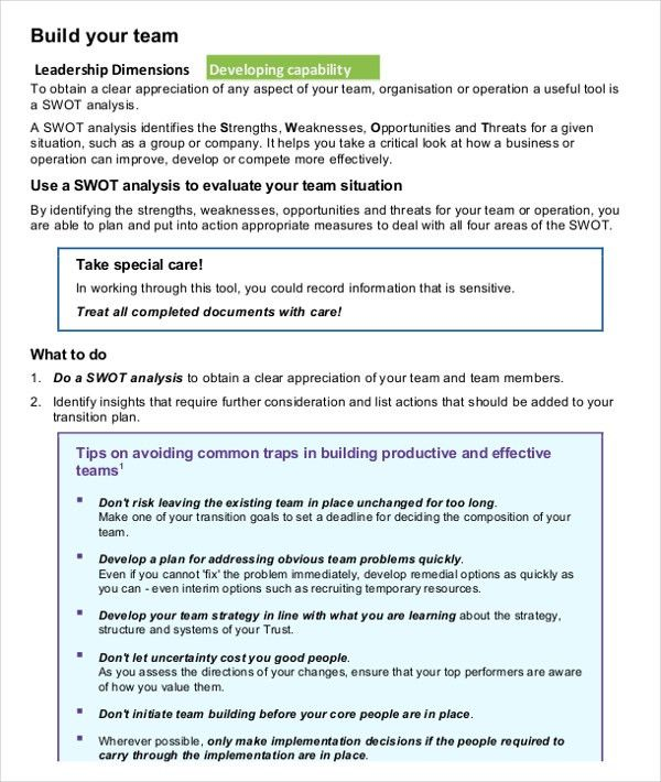10+ SWOT Analysis Examples Download in Word, PDF | Free & Premium ...