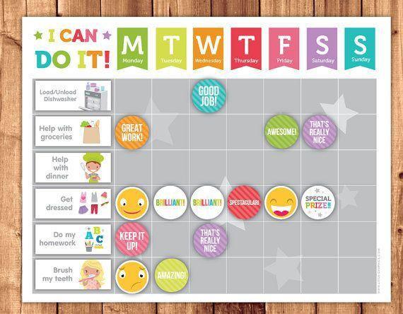 17 best Chore Charts images on Pinterest | Rewards chart, Chore ...