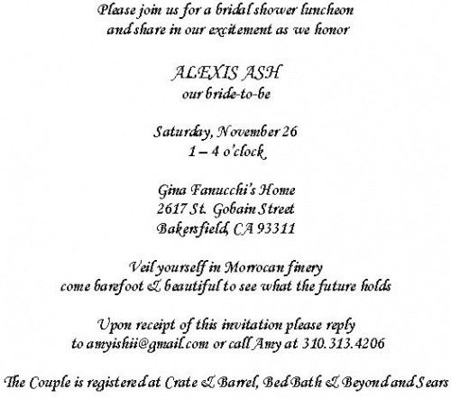 Wedding Invitation Wording Sample - vertabox.Com