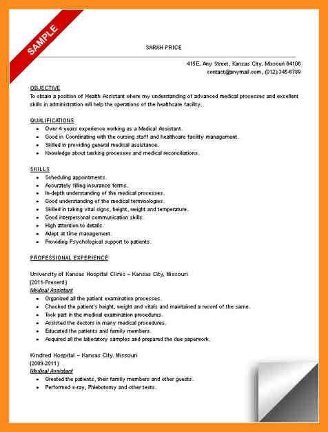 4+ resume objectives for medical assistant - mystock clerk