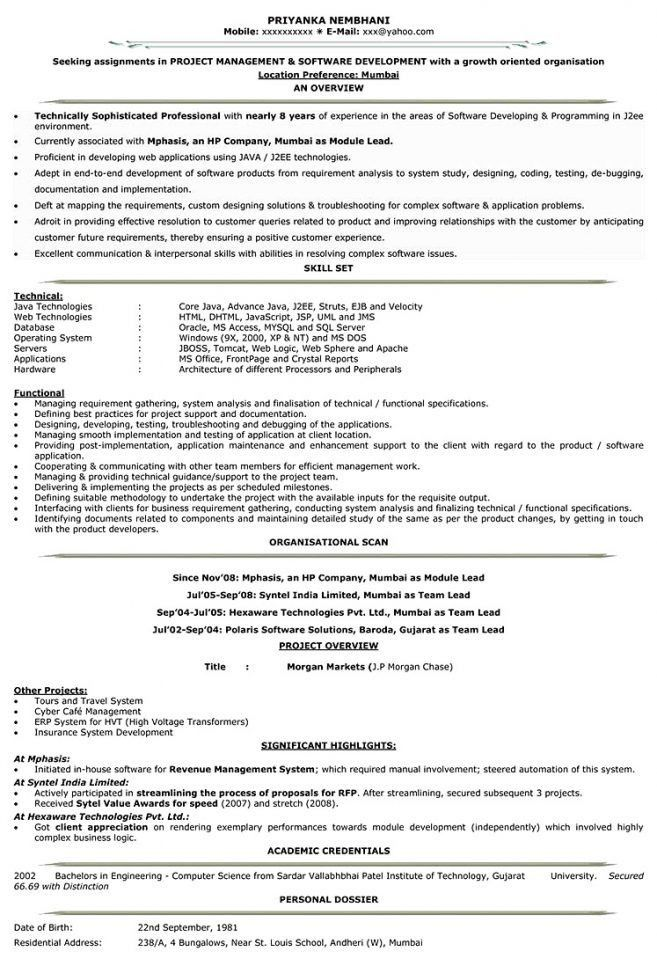 7 Cv For It Engineer Resume engineering resume format pdf ...