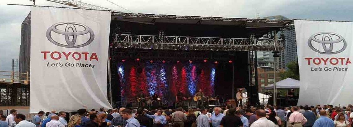 In Concert Productions Inc. Atlanta GA Sound, Staging, Lighting ...