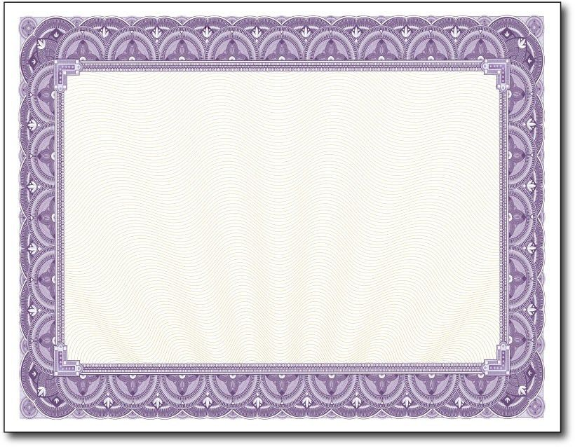Paper for Certificates | Printable Certificate Paper ...