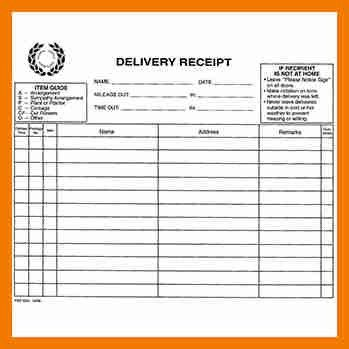 5+ shipping receipt template | resume holder