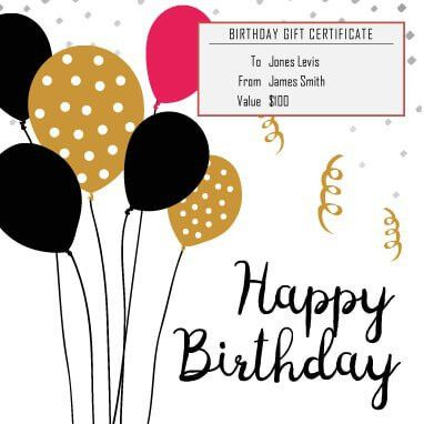 13 Free Printable Gift Certificate Templates [Birthday, Christmas]
